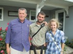 Tom, Peter, and Molly McMinn, Hempstead, TX