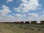 The Santa Fe line along 84