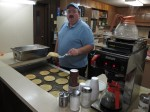 Breakfast for dinner at Liberty Baptist Church