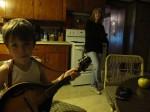 Storm rocked the ol' mandolin