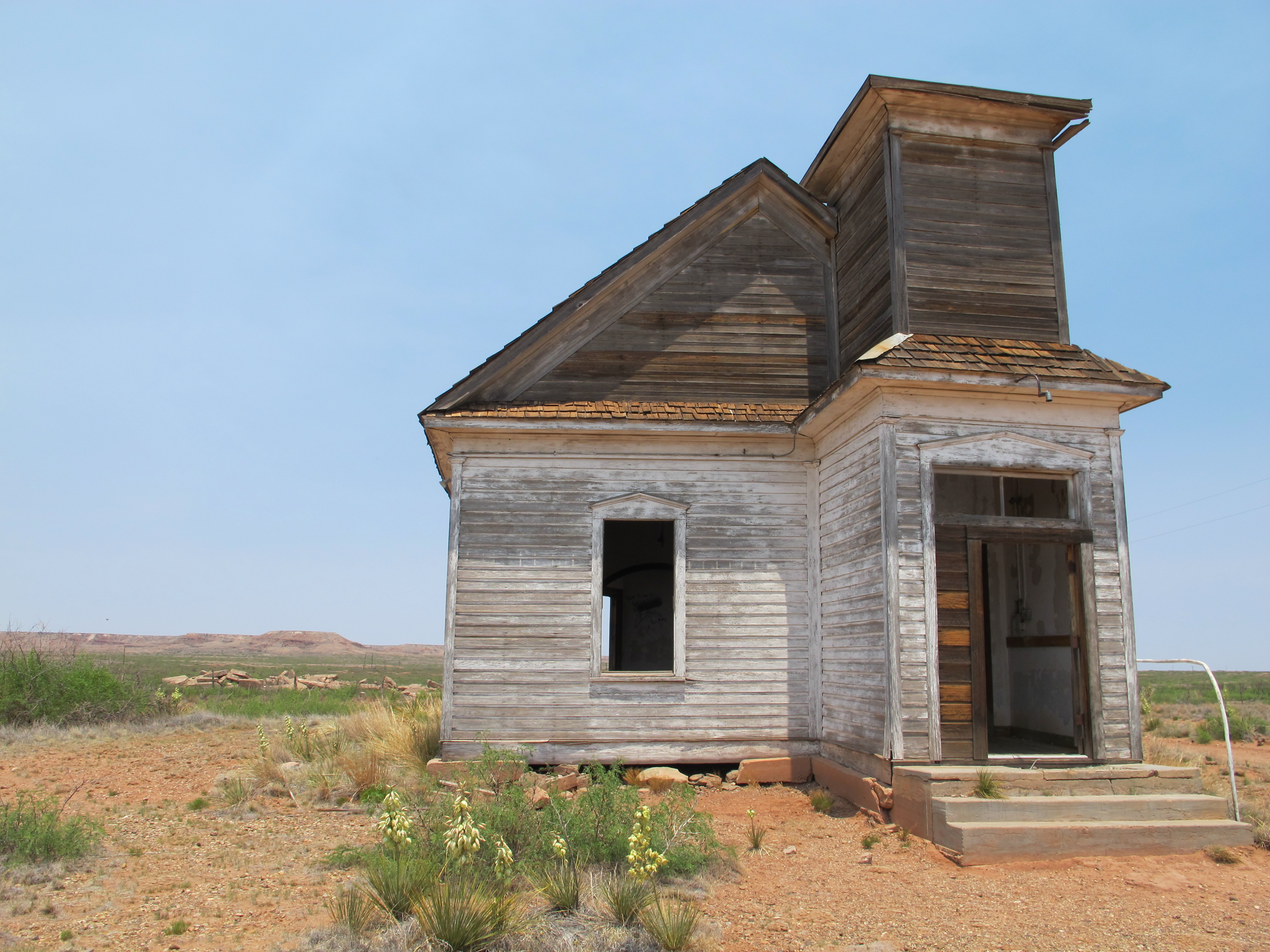 abandoned church in taiban, nm