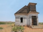 Abandoned church, Taiban, NM