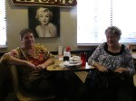 At Victoria's diner in Clover, SC