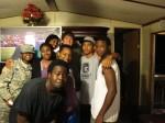 The crew in Vredenburgh