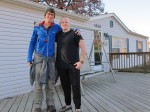 Shane Wilson, strong and shining man, took me in with his family in Blue Ridge, VA