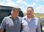 Chris and James Paisano, a grand welcoming, Fort Defiance, NM