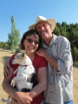 Alexis and Archie, and Peepers, Cerrillos, NM