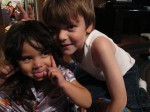 Storm and Bree, Dale and Becki's grandkids. Adorable