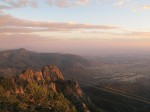 Sunset on Sandia