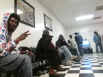 The barbershop outside Selma