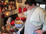 Paul Fitch, host and cook extraordinaire
