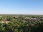 Above Santa Anna on the mesa