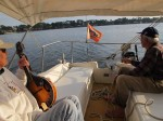 A sail with Marian and Herb