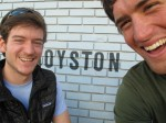 Penn visits me on the road. Royston 4 life, baby!