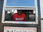 Mr. Moore's barbeque, the best around