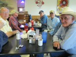 The regulars at George's, Post, TX