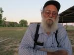 Tex Wright spins some yarns, Santa Anna, TX