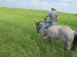 Riding with Molly at TJM Ranch