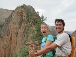 Cristelle and Jean, Angel's Landing, Zion