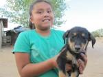 Lala and pup, Jeddito, AZ