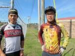 Biking across the world, Bong and Daniel meet again