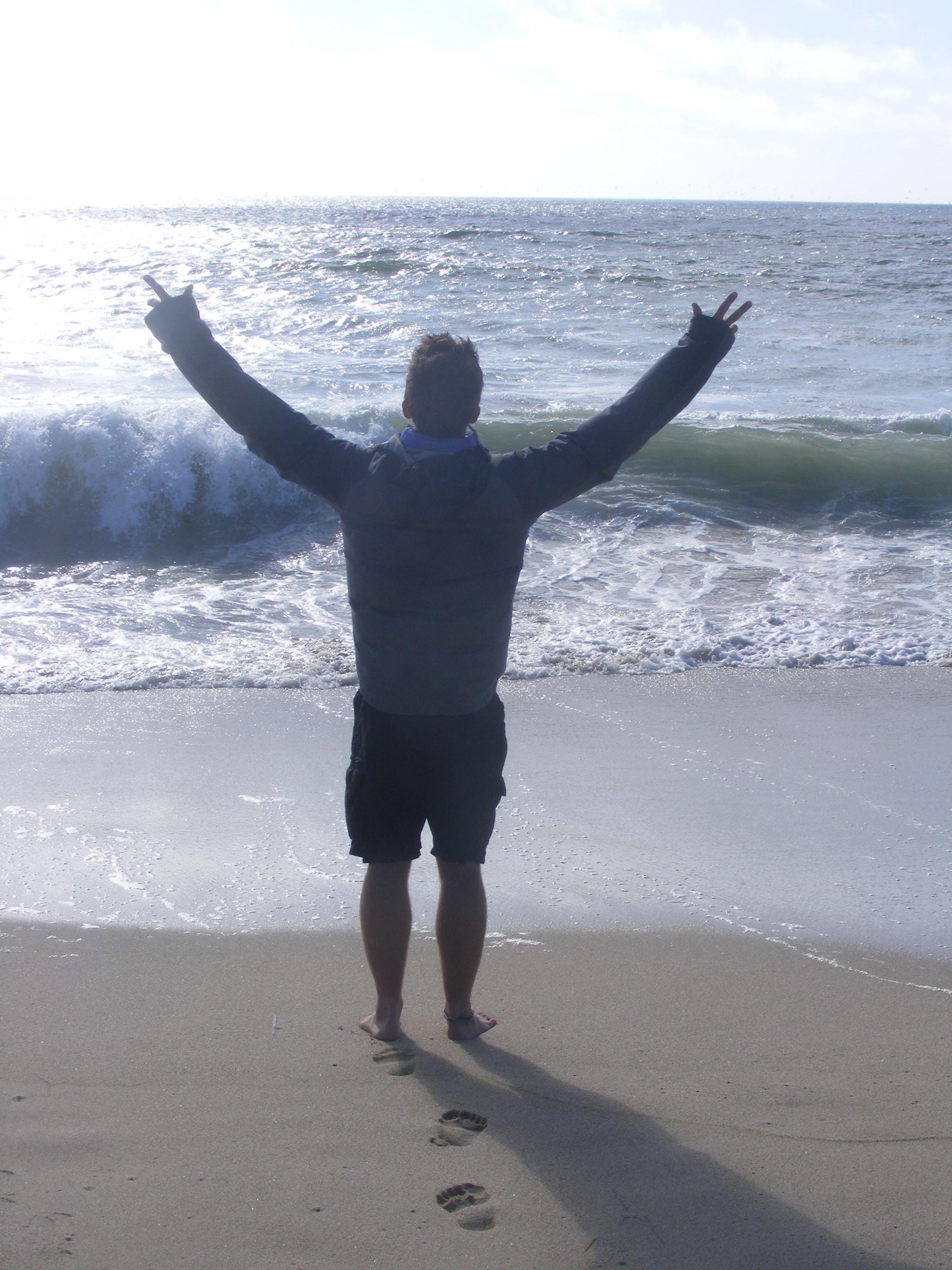 reaching the ocean